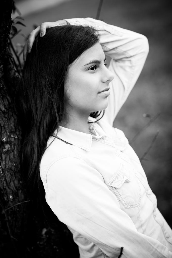 Foto von einem Mädchen