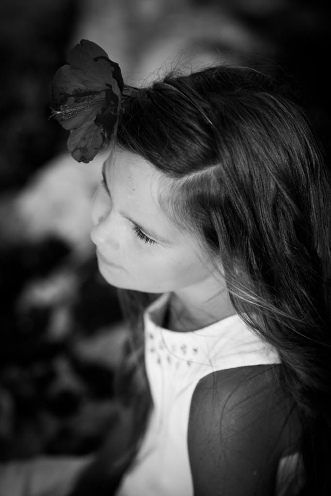 Ein Mädchen