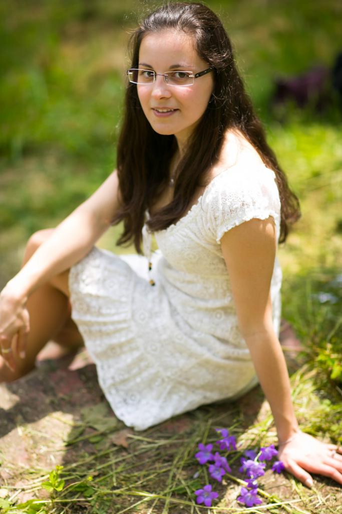 Portrait von einer jungen Frau