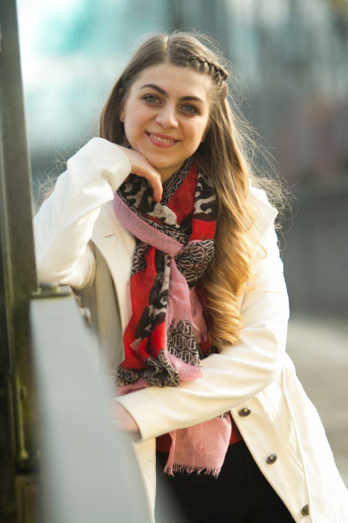 Foto von einer jungen Frau