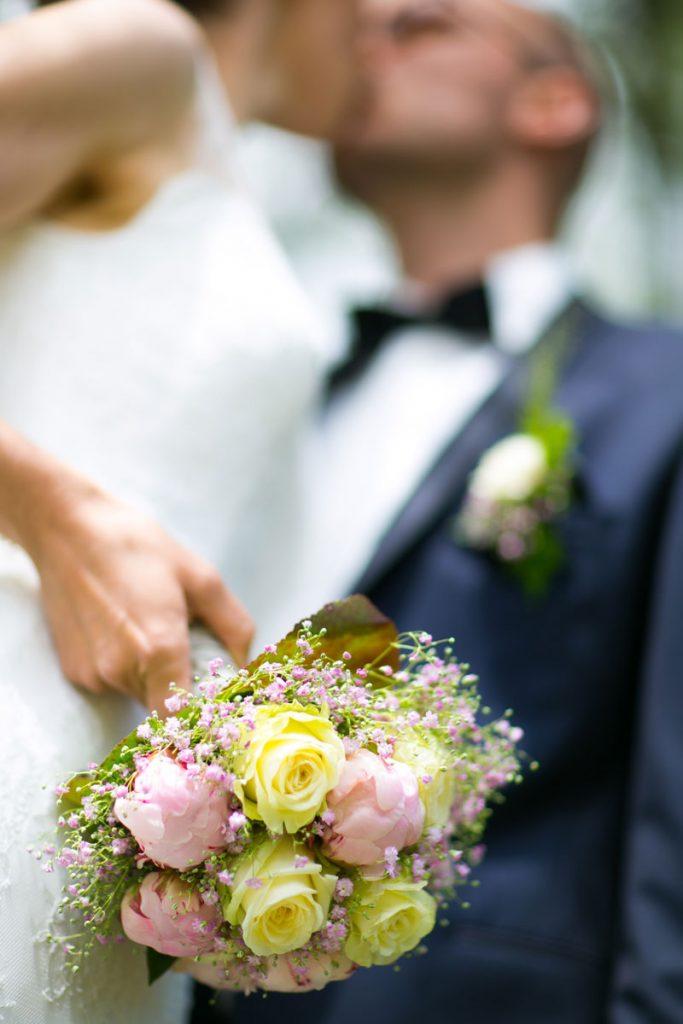 Hochzeitssblumenstrauß