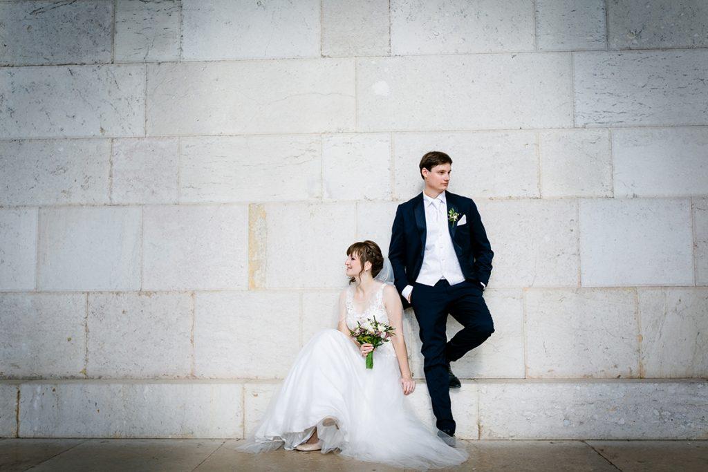 Hochzeitspaar in Walhalla