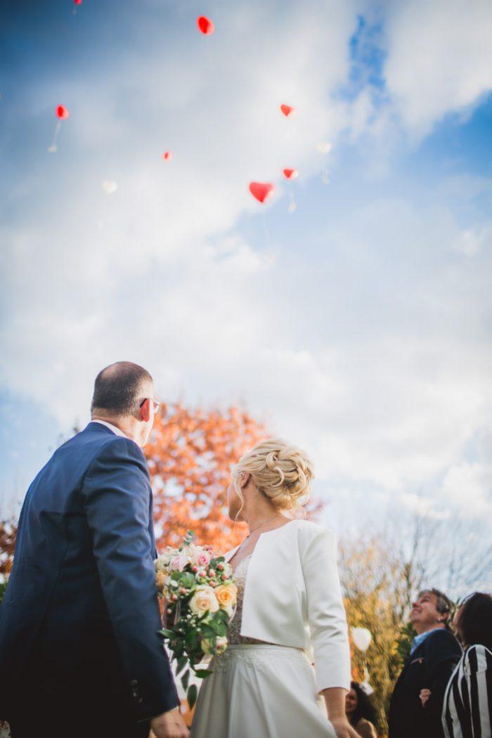 Brautpaar auf einer Hochzeit