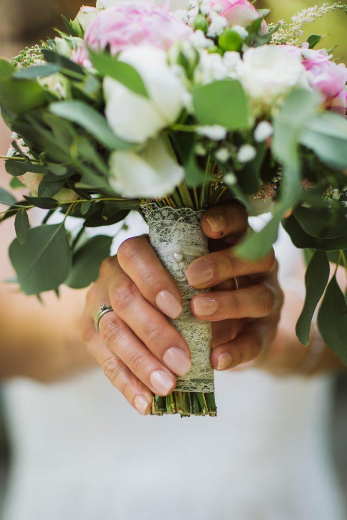 Hochzeitsstrauß auf einer Hochzeit